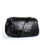 까르띠에 32cm SHOULDER BAG CROCODILE PRINT 블랙-2B058
