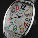 프랭크뮬러 (FM 6270) FRANCK MULLER Curvex Colour Dreams Men Diamond SWISS ETA 2824-2 A/T